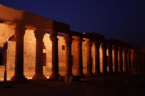 Private day trip: Philae Temple Sound and Light Show from Aswan