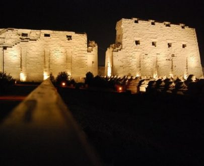 Private excursion: Karnak Sound and Light Show