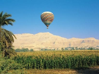 Private excursion: Hot Air Balloon Flight Over Luxor and Nile River