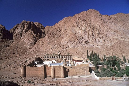 Group excursion: St Catherine's Monastery by bus from Sharm El Sheikh