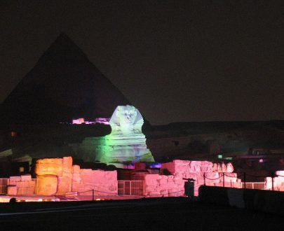 Private Excursion: Pyramids Sound & Light Show