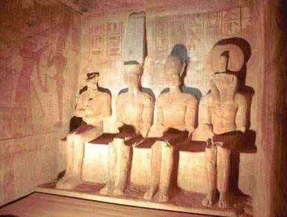 Abu Simbel Temples by from Aswan