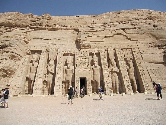 Abu Simbel Temples by plane from Cairo