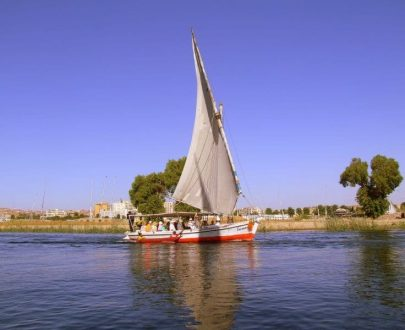 Nile Felucca ride with private Egyptologist guide