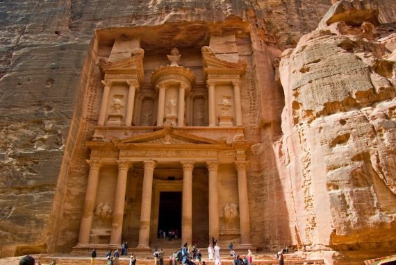 Private excursion: 2 days day trip to Petra, Wadi Rum & The Great Temple from Dahab by ferry boat