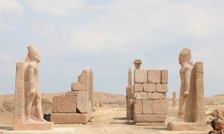 San Al-Hagar archaeological site's conversion to open-air museum of ancient Egyptian art making progress 1