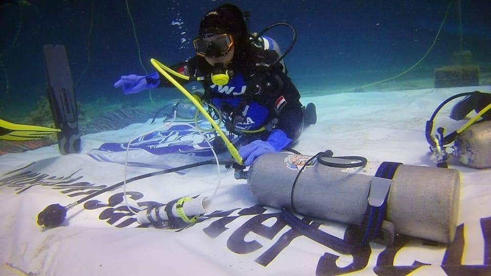 14-year-old Egyptian Girl Breaks World Record for the Longest Dive 1