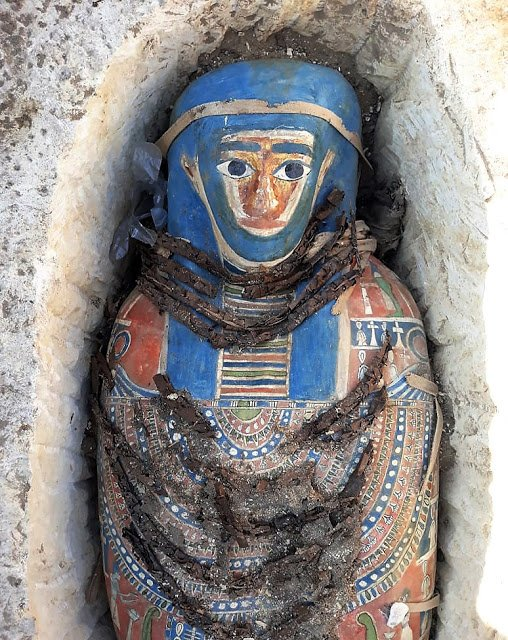 Several Mummies Discovered by Egyptian Archaeologist  in Dahshur, South of Cairo- My Egypt Travel